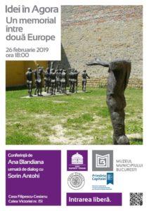 Idei în Agora - Ana Blandiana despre Memorialul anticomunismului @ Casa Filipescu-Cesianu