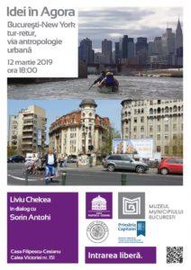 Liviu Chelcea la Idei în Agora @ Casa Filipescu-Cesianu