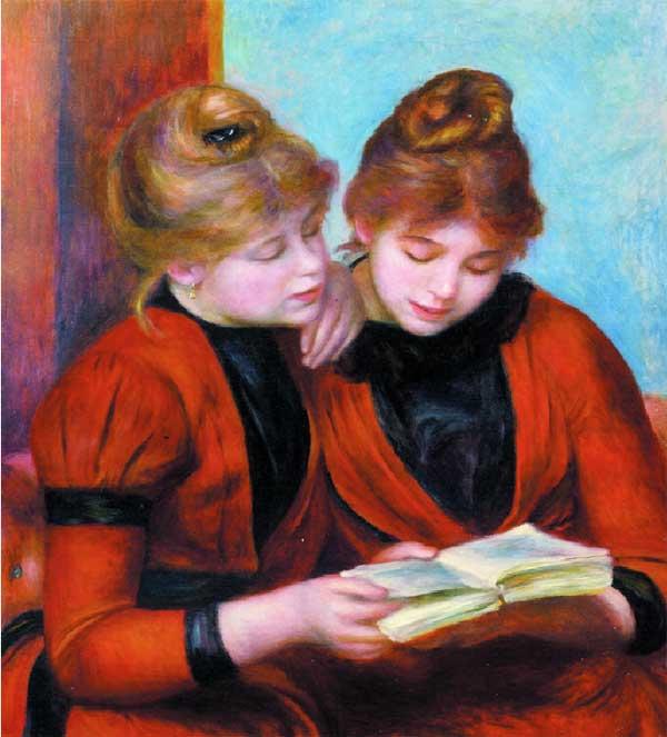 Pierre-Auguste-Renoir,-Două-surori