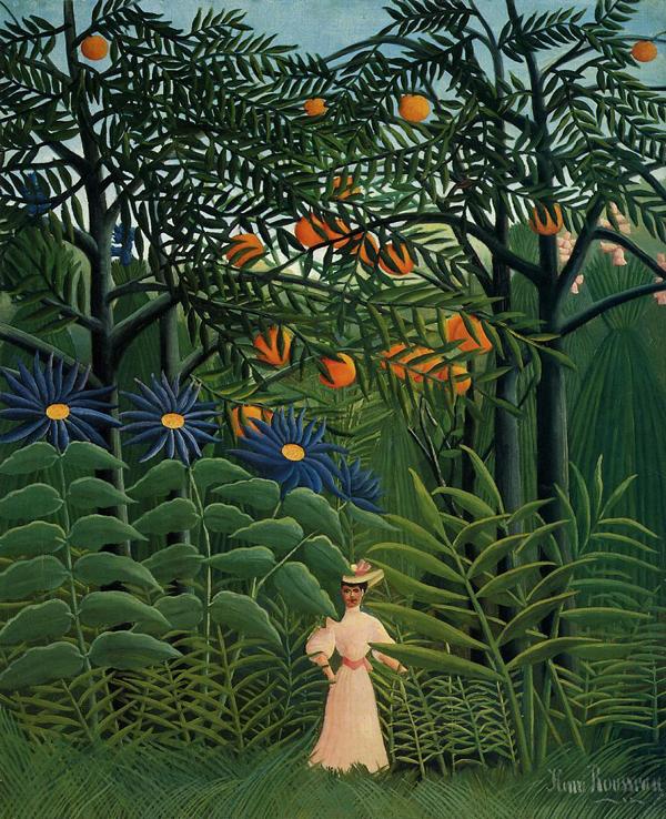 duanier,-femeie-in-padure-tropicala