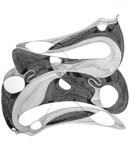 2,EQUILIBRIUM,-colectie-Amalgam-of-the-Soul,-tehnica-penita-si-pensula-cu-cerneala-acrilica