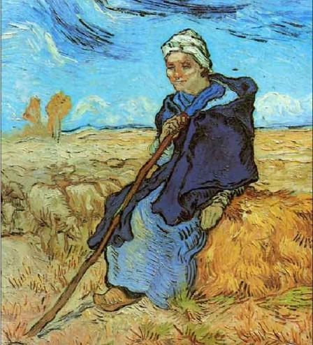 Vincent-van-Gogh,-Pastorita